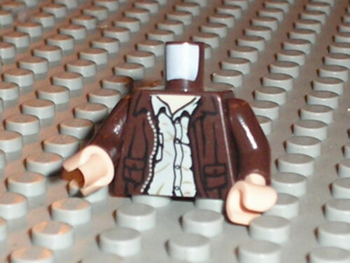 MINIFIG LEGO INDIANA JONES torso Set 7625 7626 7620 7622 7623 7627 7621 7624