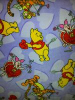Personalize Winnie The Pooh Tigger Piglet Hearts Love Fleece Blanket 48x58