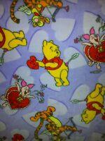 Personalize Winnie The Pooh Tigger Piglet Hearts Love Fleece Blanket 48x58