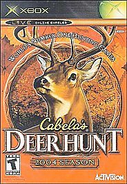 Cabela's Deer Hunt: 2004 Season (Microsoft Xbox, 2003)