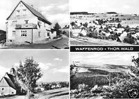 AK, Waffenrod Thür. Wald, vier Abb., 1970