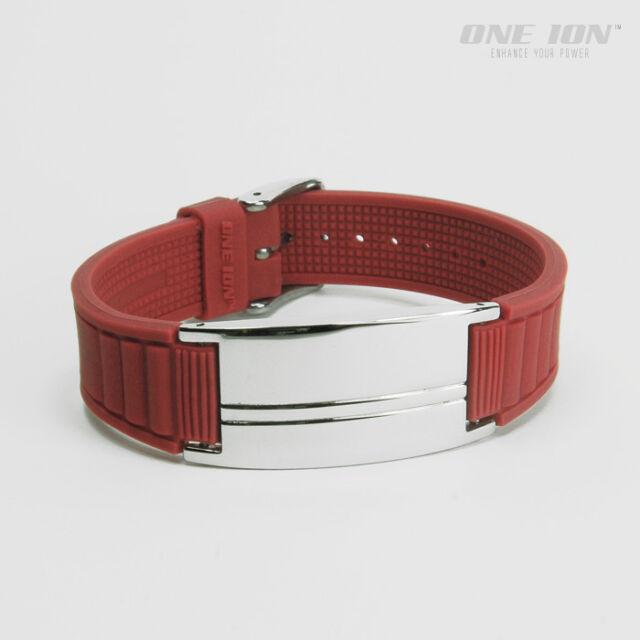 ONE ION Plus Energy+ POWER Wristband Ion Balance Bracelet Band - 6 Variations
