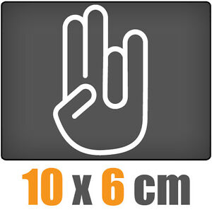 The-Shocker-Hand-csf0006-10-x-6-cm-JDM-Decal-Sticker-Aufkleber-Racing-Die-Cut