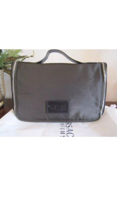 Versace Parfums Men Toiletry Case Pouch Shaving Dopp Kit Bag for ... f2a445a390913