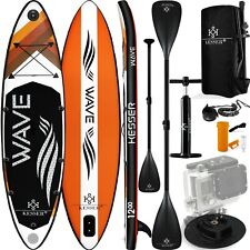 KESSER® SUP Board Set Stand Up Paddle aufblasbar Surfboard Paddling ISUP