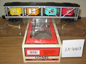 LIONEL-6-26496-LIONELVILLE-AQUARIUM-CO-FISH-FOOD-VAT-CAR-O-GAUGE-TRAIN-GOLDFISH