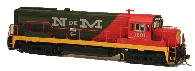 Pista h0-diesellok ge u25b der de méxico con Loksound -- 23839 nuevo