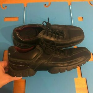 rockport xcs mens black size 11 leather casual comfort