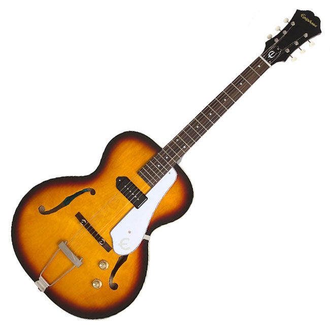 Epiphone Inspirot by 1966 Century Aged Gloss P90 P90 P90 Hollow Body Electric Guitar f84b14
