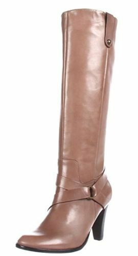 Corso Como Women's Taupe Florence Tenure Knee-High Boots Size 9 M