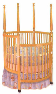 Details about New Nursery Baby Round Crib, Woodworking Plans, Cutting List  & Drawings Included