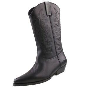 bc463724667961 Das Bild wird geladen NEU-Dockers-Herren-Cowboy-Stiefel-Schuhe -43bl001-Westernstiefel-