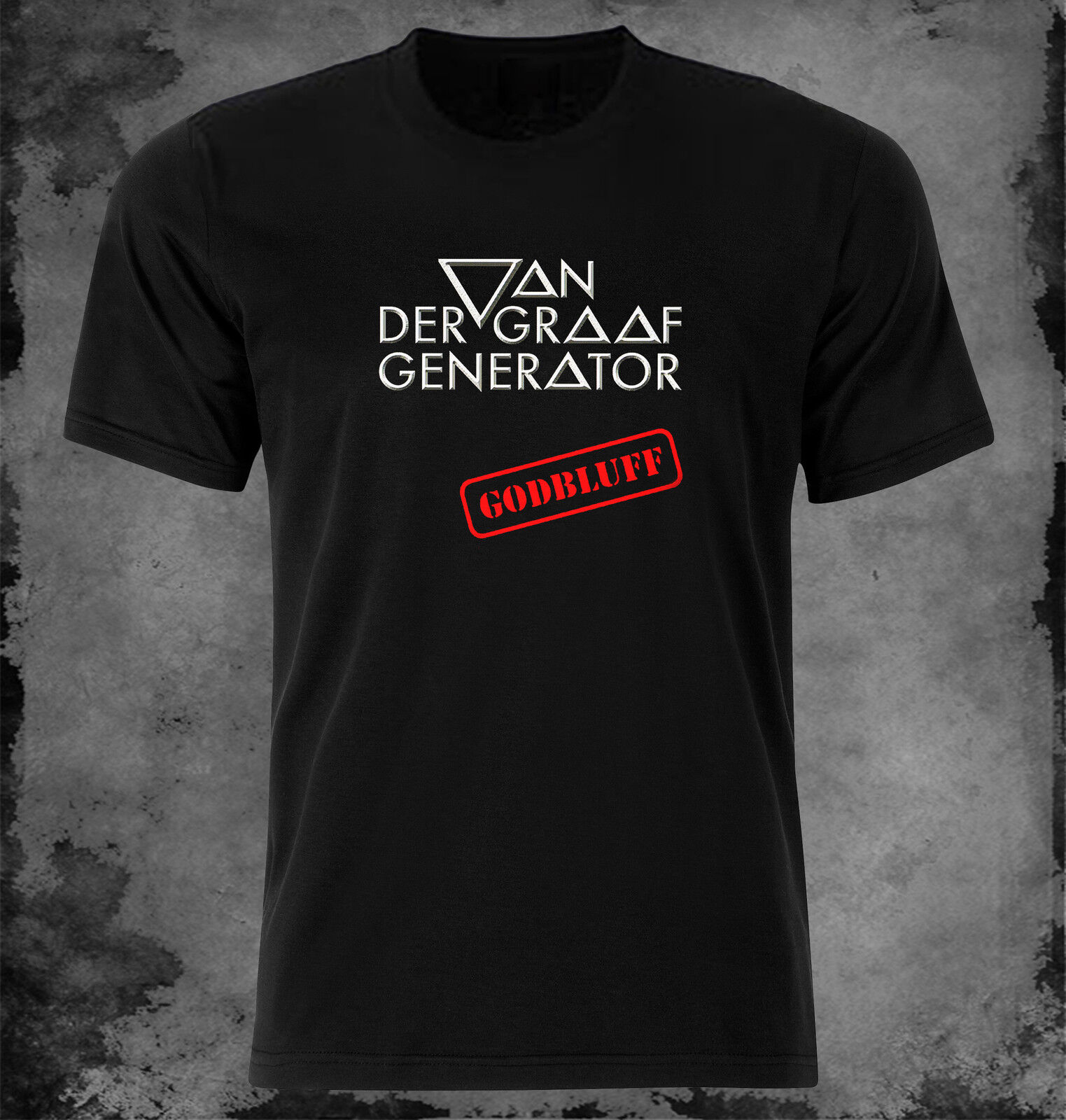 Van Der Graaf Generator Godbluff T Shirt Funny Unisex Casual Tshirt Top  White T Shirts Offensive T Shirts From Teeaddict, &Price