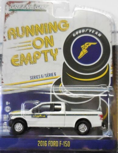Greenlight Collectibles Running On Empty Series 6 2016 Ford F150 Good Year NEW