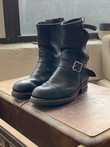 Red Wing 2268 Engineer Boots (Size 9.5D)