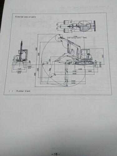 YANMAR ViO 40 Operation /& Maintenance Manual
