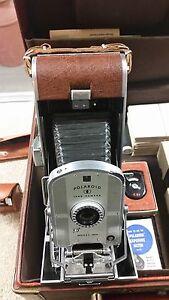 Vintage-Polaroid-Land-Camera-Speedliner-95A-Case-Instructions-Filters-C6-S2
