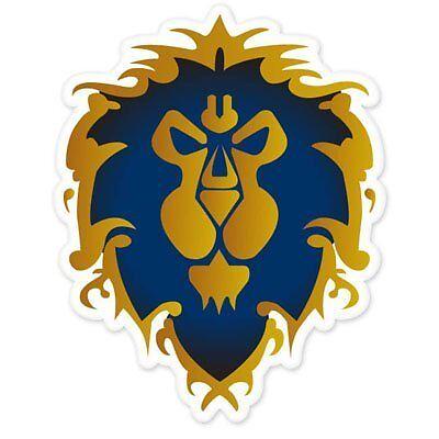 Symbol Vinyl Decal Sticker Game RPG World of WarCraft Horde Alliance