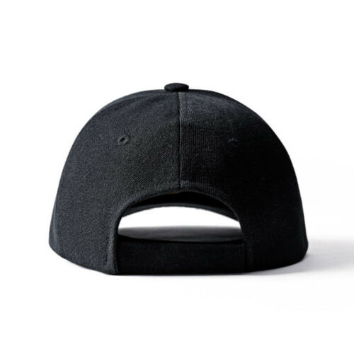 Unisex Loop Plain Trucker Caps Solid Blank Curved Visor Summer Hats Adjustable