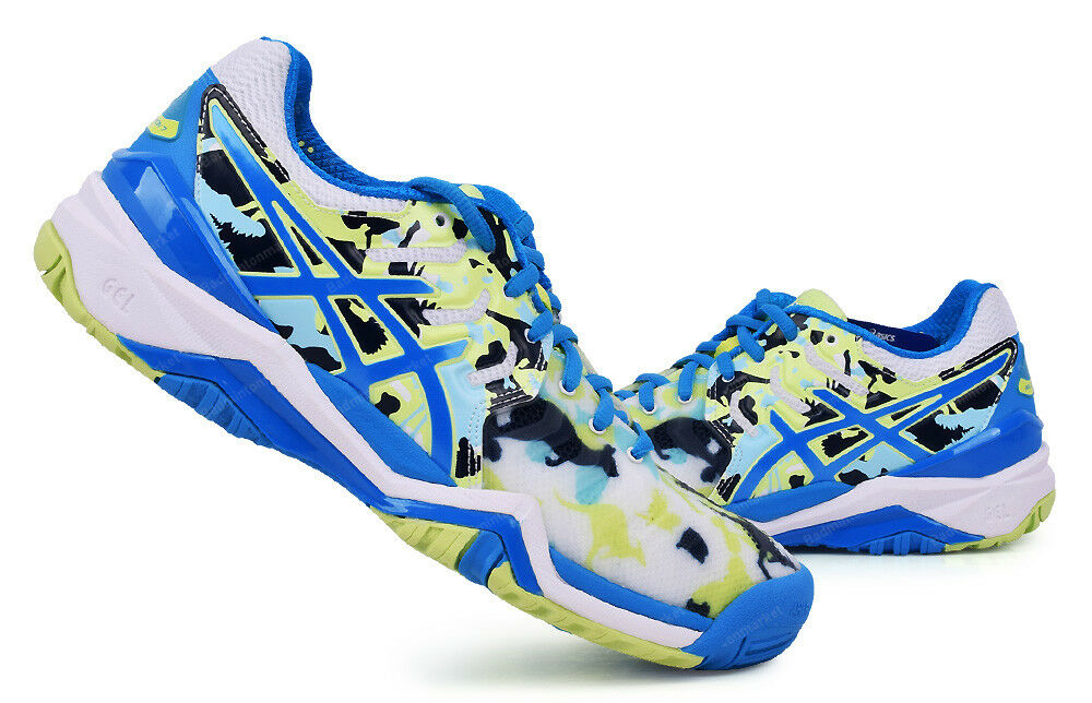 Asics Gel de resolución 7 L. e Melbourne Zapatos Tenis De Mujer todos Tribunal E760Y-0143