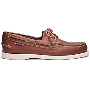 Sebago Docksides Portland Marron 900 Chaussures Bateau Homme Tailles 7-13 M //