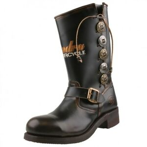 Boots Brown Motorcycle Nouveau Sendra Biker Boots 3580 O4Iy7