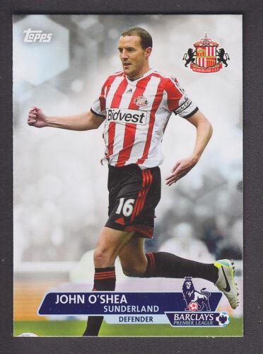 Topps Premier Gold 2013 Sunderland Base # 76 John O/'Shea