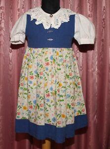 TRACHTEN-Set-Bluse-und-Kleid-DIRNDL-St-Peter-Trachten-Gr-104-TOP