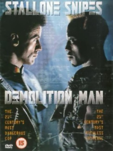 Bob-Gunton-Sylvester-Stallone-Demolition-Man-DVD-NEW