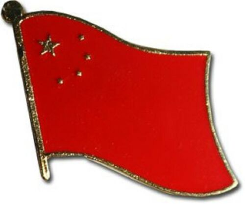 China Country Flag Bike Motorcycle Hat Cap lapel Pin