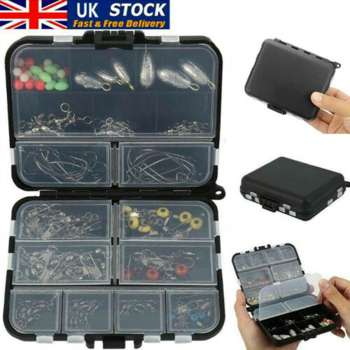 160pcs//set Sea Fishing Tackle Box Kit Set with Multiple Accessories of Jig UK