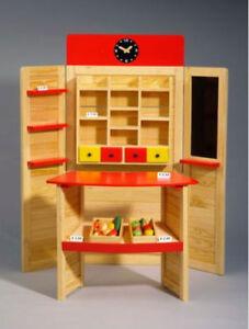 Kaufladen Kaufmannsladen große Theke Tafel aus Kiefernholz Natur Holz Neu & OVP
