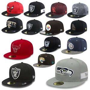New-Era-Cap-59Fifty-Yankees-Chicago-Bulls-Oakland-Raiders-Seattle-Seahawks-UVM
