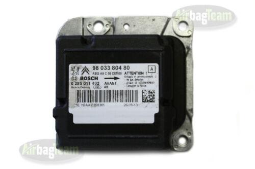 Peugeot 208 Airbag ECU SRS Control Module 9803380480 0285011402 No Crash Data