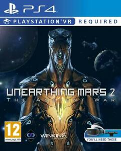 Playstation-4-NEW-SEALED-VR-Game-UNEARTHING-MARS-2-The-Ancient-War-PS4