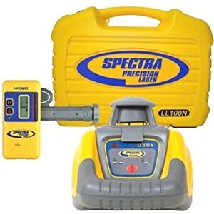 Spectra-Precision-LL100-LL100N-Rotary-Laser-Level-with-HR320-Receiver-Trimble