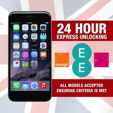 Apple iPhone Factory Unlocking Service For EE ORANGE T-MOBILE UK - 24 HR SERVICE