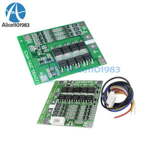 3S 25A 4S 30A BMS PCB Protection Board For 18650 Li-ion Lithium Battery Cell