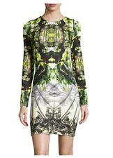 10 NICOLE MILLER Artelier Mirror Image Mercedes Coronado Dress NWT $410