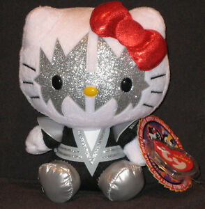 TY HELLO KITTY KISS SPACEMAN BEANIE BABY - MINT with MINT TAGS - NEW