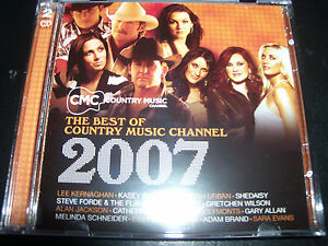 CMC-Best-of-Country-Music-Channel-2007-CD-Ft-Steve-Forde-Keith-Urban-Beccy-Cole