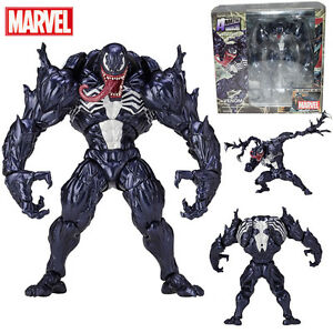 Spider-Man-VENOM-No-003-Action-Figure-Yamaguchi-Katsuhisa-Revoltech-Kaiyodo-Toy