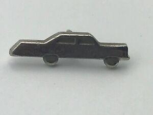 "Very Cool 3/4"" Silver Tone Car Lapel Pin Tie Tac C3"