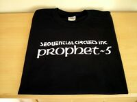 RETRO T SHIRT SYNTH DESIGN PROPHET FIVE 5 S M L XL XXL SEQUENTIAL CIRCUITS