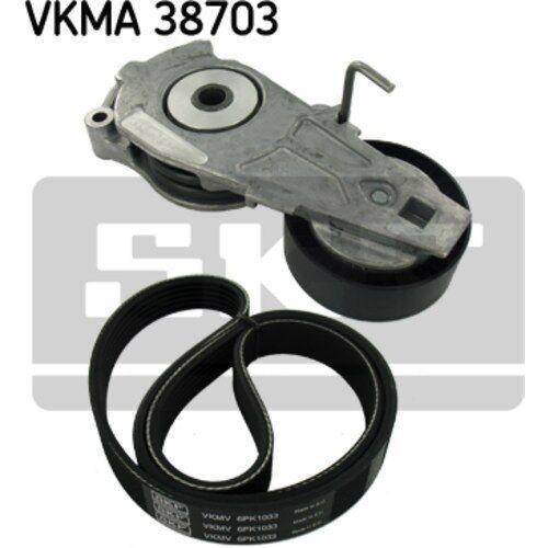 SKF Original Keilrippenriemensatz VKM38700 VKMA 38703 Mini Mini
