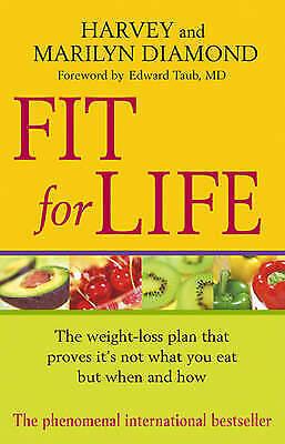 1 of 1 - Fit For Life, Acceptable, Harvey Diamond, Marilyn Diamond, Book