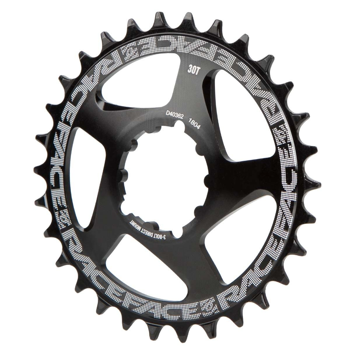 Race Face MTB-Kettenblatt  Schwarz, Direct Direct Direct Mount, 3-Bolt, Cinch, für 10 11 12-Fa 2fdc61