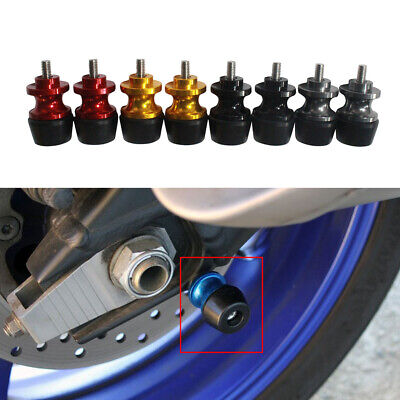 6MM M6 X 1.5 Motorcycle Swing Arm Sliders Spools 2PCS CNC Swing Arm Stand Screw For Yamaha MT09 MT-09 2014 2015 2016 2017