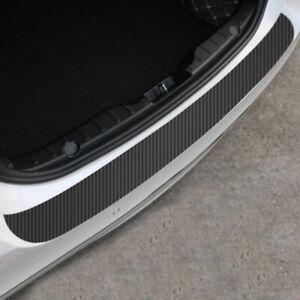 1x-Black-Carbon-Fiber-Car-Rear-Bumper-Protector-Corner-Trim-Sticker-Accessories