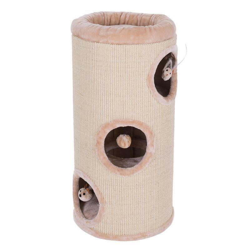 Scratching Barrel Small Cat Tree Kitten Playing Cats Cats Cats Toy Scratch Post Tower Deck da10c3